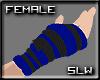 [SLW]BlueBlack Armwarmer