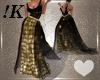 !K! Gold Valentines Gown