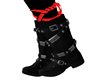 FN FEMALE Ani BOOTS Red