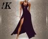 !K!Rebel Dk.Purple Dress