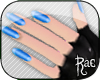 R: Layerable Blue Nails