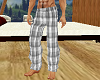Plaid Pajama pants Grey