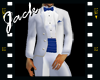 Blue Wedding Tux Tails