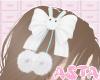 A. blue bun hairpin