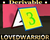 Derivable Card for Table