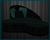 Dark Teal- Kissing Couch