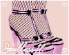 fem lilac heels