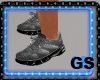 """GS"" DESING GRAY KICKS"