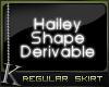 K| Hailey Shape: Skirt