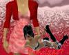 *Dress with Bolero Red
