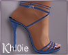 K blue heels romance