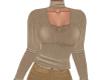TF* Modest Tan Sweater