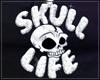 SKULL LIFE Chain Fem