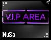 Purple VIP Neon Sign