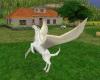 White & Gold Pegasus