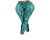 Teal Diva Pants