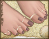|S| Brown Beauty Pedi