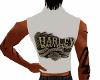 White Harley Vest