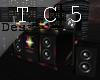 Neon pop dj booth