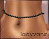 .LV. Black Belly Pearls