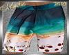 !b Beach Shorts V4