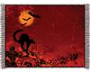 Halloween Cat Rug