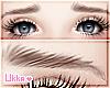 Worried Eyebrows - Brown