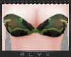 Camo Bikini Top