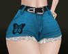 *HC* Short  w/ belt Blue