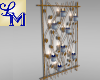 !LM Gold&Blue CandleWall
