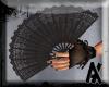 Victorian Lace Fan CREME
