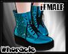 ✘Glam Boots [Aqua]