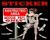 RESTRICTED AREA #2