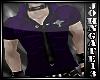 Purple Gothic Shirt +Tie