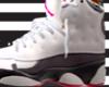 jordan 13 pink &white