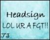 TS-Headsign