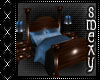 Blue Cuddle bed