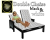 Double Chaise b + w