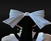 White Lace Doll Hair Bow