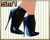 Sm1 7in blue Heels w/sox