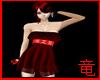 [竜]Red Lace dress