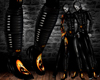 DARK Hallowen Pvc Boots