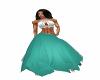 Teal Fairy Skirt