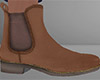 Brown Chelsea Boots 2 M
