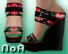 *NoA*Flower Wedge Shoes3
