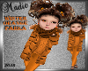 Winter Orange Parka Kids