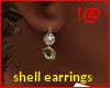 !@ Shell earrings