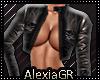[A] Eros Leather Jacket