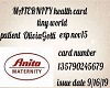 0LIVIA INSURANXE CARD
