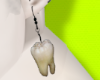 Tooth earrings